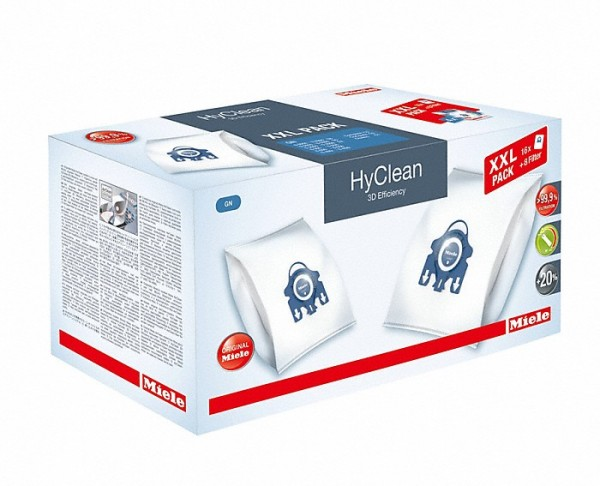 Miele XXL-Pack HyClean 3D Efficiency GN blau